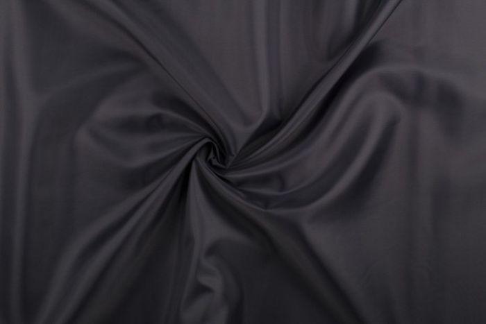 """1 mtr quality dark grey lining satin fabric..58"""" wide 147cm"""