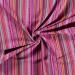 Aztec Jacquard Stripe Fabric | Passionate Pink