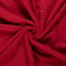 Terry Towelling Fabric   Red