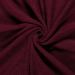 Terry Towelling Fabric | Burgundy