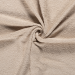 Terry Towelling Fabric   Sand