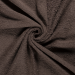 Terry Towelling Fabric | Brown