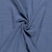 Double Gauze Fabric | Plain Indigo