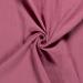 Double Gauze Fabric   Plain Dark Pink