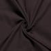 Double Gauze Fabric | Plain Dark Brown