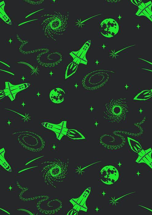 Light Years *GLOWS IN/_THE DARK* A422.3 Dark Blue Constellations