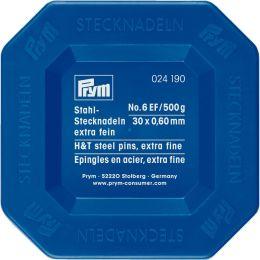 Dressmakers Pins - Exra Fine, 500g Plastic Box   Prym