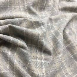 Wool Blend Fabric | Check Naturals
