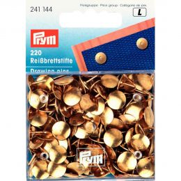 Drawing Pins Gold | Prym