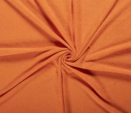 Terry Towelling Fabric | Orange