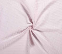 Cotton Waffle Fabric | Light / Palest Pink