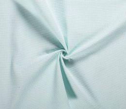 Cotton Waffle Fabric   Mint
