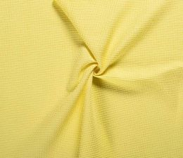 Cotton Waffle Fabric | Yellow