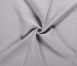 Cotton Waffle Fabric | Light Grey