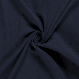 Double Gauze Baby Cloth | Plain Navy