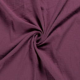 Double Gauze Fabric | Plain Old Pink