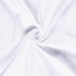 Double Gauze Fabric | Plain Optical White