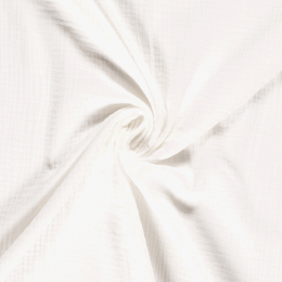 Double Gauze Baby Cloth | Plain Light Ivory