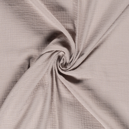 Double Gauze Fabric | Plain Sand
