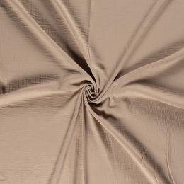 Double Gauze Fabric | Plain Camel