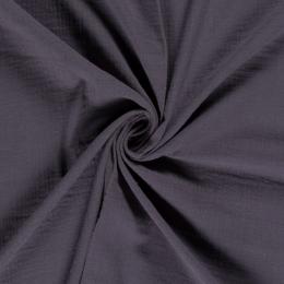 Double Gauze Fabric | Plain Grey