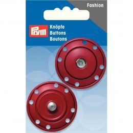 Snap Fastener, 35mm Dark Red | Prym