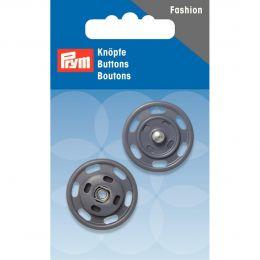 Snap Fastener, 25mm Grey | Prym