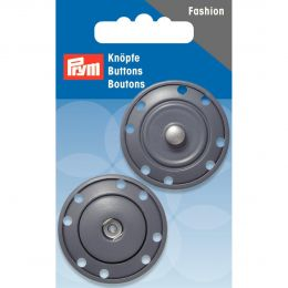 Snap Fastener, 35mm Grey | Prym