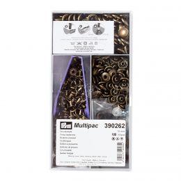 15mm Antique Brass | Anorak Press Fasteners Multipack | Prym