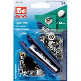 13mm Silver   Outdoor Mini Press Fastener & Tool   Prym