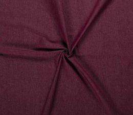 7.5oz Premium Twill Denim Fabric | Bordeaux