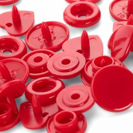 Heart Colour Snap Press fasteners by Prym
