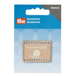 Handmade Label | 40x30mm - Beige | Prym
