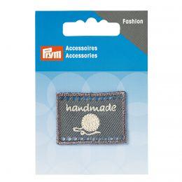 Handmade Label | 40x30mm - Grey | Prym