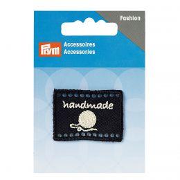 Handmade Label | 40x30mm - Black | Prym