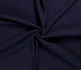 Boiled Wool Fabric | Navy