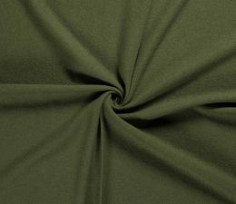 Boiled Wool Fabric | Khaki Green