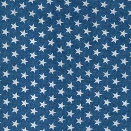 4oz Soft Denim Print | Stars