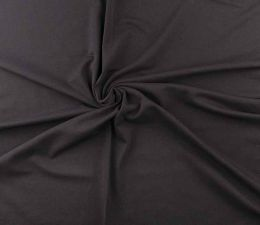 French Terry Brushed Back | Black