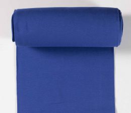 Tubular Jersey Fabric Plain | Cobalt