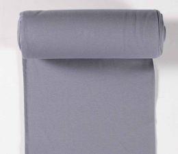 Tubular Jersey Fabric Plain   Grey