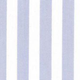 Classic Stripe Fabric | Pale Blue