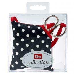 Pin Cushion & Scissors, Polka Dot | Prym