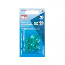 Bobbins For Horizontal Shuttle, 21.6mm - Plastic | Prym