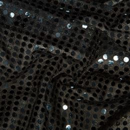 Sequin Fabric 6mm | Black