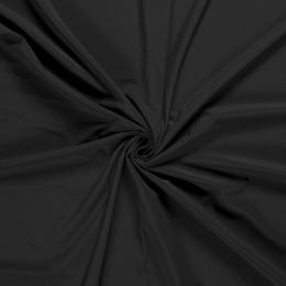 Soft Shell Fleece Fabric Plain | Black