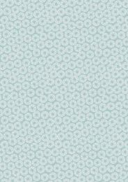 New Forest Winter Fabric | Winter Star Ice Blue