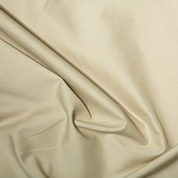 Classic Polycotton Fabric | Beige
