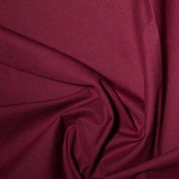 Classic Polycotton Fabric | Wine