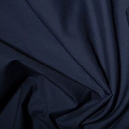 Classic Polycotton Fabric | French Navy
